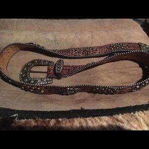 X LG Justine cowgirl belt. Lost too big. Beautiful
